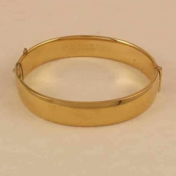 thick imitation bangle indian gold bangles bracelet kada wide