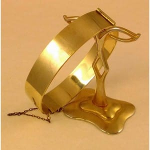 9ct-rolled-gold-heavy-bangle-chain