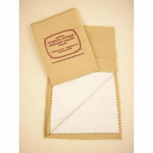 JEWELLERY CLEANING AND POLISHING CLOTH 30CM x 25CM -