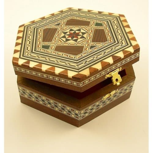 MARQUETRY REVIVAL, CRAFTED JEWELLERY BOX -