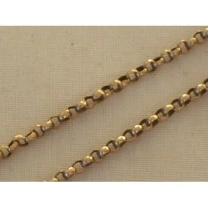 VICTORIAN 9CT GOLD CHAIN NECKLACE -