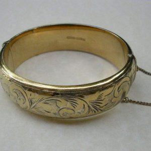 vintage-gold-silver-bangle
