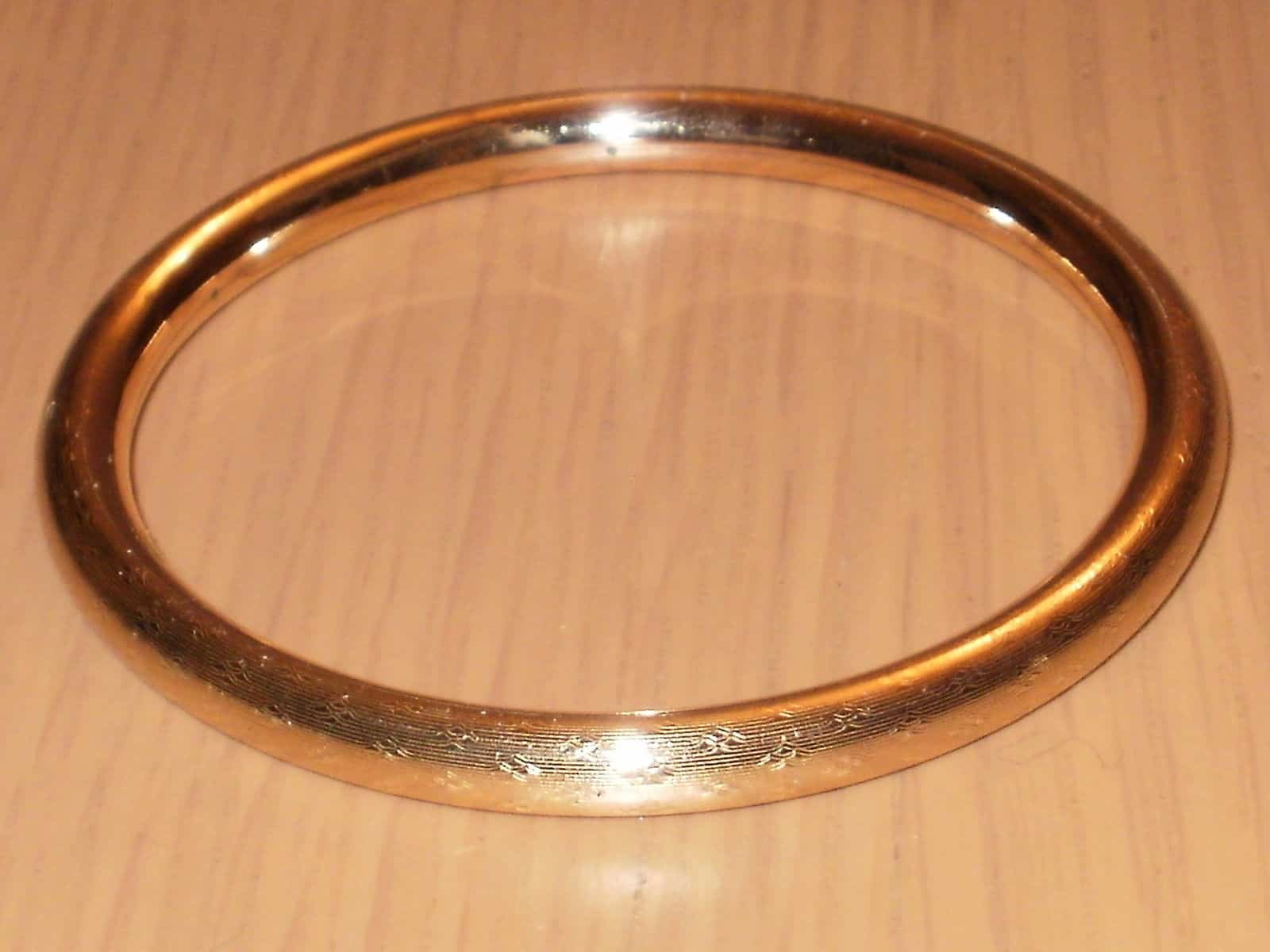 solid gold zoom plain one bangles listing il bangle fullxfull thin bracelet